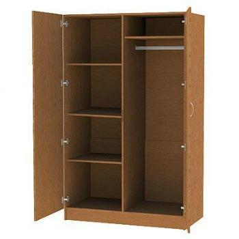 Шкаф комбинированный двухстворчатый 1124*580*1824.